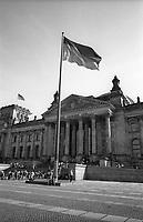 berlino, Il palazzo del Reichstag (parlamento) --- berlin, The Reichstag building (parliament)