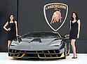 Lamborghini displays 100th anniversary Centenario model in Japan