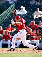 Adam Pavkovich - Los Angeles Angels - 2009 spring training.Photo by:  Bill Mitchell/Four Seam Images
