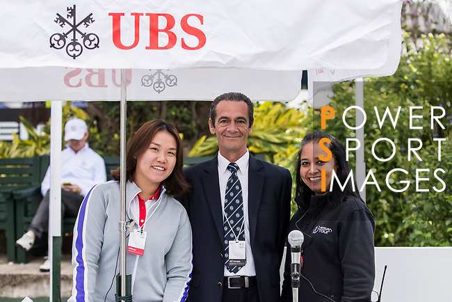 Official Starter Peter King poses for a photo during the day four of UBS Hong Kong Open 2017 at the Hong Kong Golf Club on 26 November 2017, in Hong Kong, Hong Kong. Photo by Yu Chun Christopher Wong / Power Sport Images