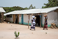 Cashew Nuts.  Group Juboo Cashew Processing Center, Fass Njaga Choi, North Bank Region, The Gambia