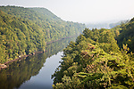 Haze on the Connecticut River, Gill, MA, USA