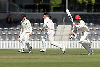 Hamish Bennett bowls during Day 1 of Round Two Plunket Shield cricket match between Canterbury and Wellington at Hagley Oval in Christchurch, New Zealand on Wednesday, 28 October 2020. Photo: Martin Hunter / lintottphoto.co.nz
