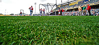 6 March 2012: The Washington Nationals take batting practice prior to a Spring Training game against the Atlanta Braves at Champion Park in Disney's Wide World of Sports Complex, Orlando, Florida. The Nationals defeated the Braves 5-2 in Grapefruit League action. Mandatory Credit: Ed Wolfstein Photo