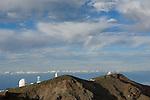 Spain, Canary Islands, La Palma, Observatorio Astrofisico Roque de los Muchachos