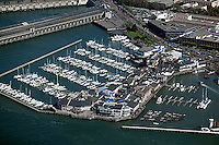 aerial photograph Pier 39 San Francisco