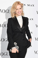 Eva Herzigova<br /> at the Vogue 100: A Century of Style exhibition opening held in the National Portrait Gallery, London.<br /> <br /> <br /> ©Ash Knotek  D3080 09/02/2016