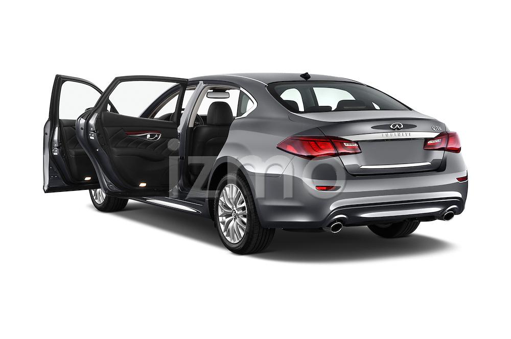 Car images of a 2015 Infiniti Q70 3.7 L 4 Door Sedan Doors