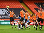 13.12.2020 Dundee Utd v Rangers: Connor Goldson (hidden) scores for Rangers