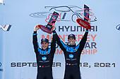 #10: Konica Minolta Acura ARX-05 Acura DPi, DPi: Ricky Taylor, Filipe Albuquerque, winner, podium