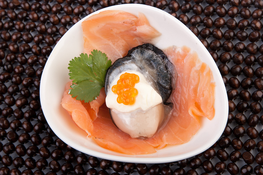 Oyster and Smoked Salmon