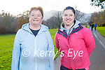 Mary and Brid Horgan from Killarney enjoying a stroll in Killarney National Park on Saturday.