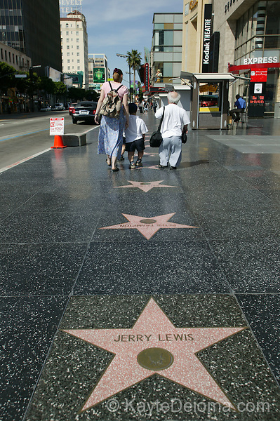 Hollywood Walk of Fame, Hollywood, CA