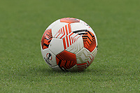 Europa League official ball is seen during the Europa league 2021/2022 group C football match between SSC Napoli and FC Spartak Moskva at Diego Armando Maradona stadium in Napoli (Italy), September 30th, 2021. <br /> Photo Cesare Purini / Insidefoto