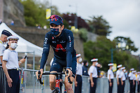 Geraint Thomas (GBR/Ineos Grenadiers) at the pre Tour teams presentation of the 108th Tour de France 2021 in Brest at le Grand Départ.