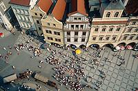 Altstaedter Ring, Prag, Tschechien, Unesco-Weltkulturerbe