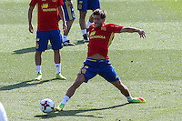 Spanish Sergi Roberto during the second training of the concentration of Spanish football team at Ciudad del Futbol de Las Rozas before the qualifying for the Russia world cup in 2017 August 30, 2016. (ALTERPHOTOS/Rodrigo Jimenez) /NORTEPHOTO
