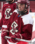 Matthew Gaudreau (BC - 21) - The Boston College Eagles practiced at Fenway on Friday, January 6, 2017, in Boston, Massachusetts.