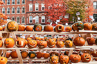 Pumpkin festival, Keene, Cheshire County, New Hampshire, USA