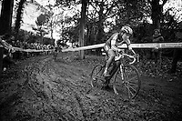 Sanne Cant (BEL/BKCP-Powerplus) is again in top shape and on her way to a 4th consecutive win<br /> <br /> Superprestige Gavere 2014