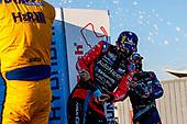 #86 Meyer Shank Racing w/Curb-Agajanian Acura NSX GT3, GTD: Mario Farnbacher, Matt McMurry, Celebration, Champagne