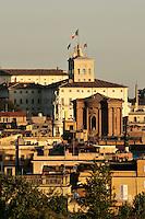 Roma 22/8/2004 <br /> Il Quirinale visto dal Pincio. Foto Andrea Staccioli Insidefoto