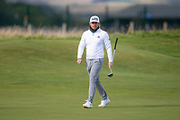 3rd October 2021; The Old Course, St Andrews Links, Fife, Scotland; European Tour, Alfred Dunhill Links Championship, Fourth round; Tyrrell Hatton of England during the final round of the Alfred Dunhill Links Championship on the Old Course, St Andrews