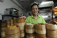 Mak Pui Gor,50, founder and owner of Tim Ho Wan the cheapest Michelin starred restaurant in the world, Hong Kong..17-Jul-11..Photo by Richard Jones......