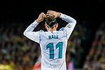 Gareth Bale of Real Madrid ties up his hair during the La Liga 2017-18 match between FC Barcelona and Real Madrid at Camp Nou on May 06 2018 in Barcelona, Spain. Photo by Vicens Gimenez / Power Sport Images