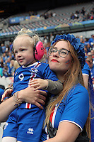Junge Island Fans - UEFA EURO 2016: Frankreich vs. Island, Stade de France, Viertelfinale