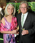 Lynn and Jim Wilson at the Bayou Bend Garden Party Sunday April 25,2010.. (Dave Rossman Photo)