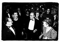 Serge Losique et Carole Bouquet<br /> a l'ouverture du FFM 1994