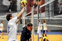 GRONINGEN - Volleybal, Eerste training Amysoft Lycurgus , seizoen 2021-2022, 17-08-2021,  Tieme de Jong