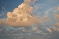 Clouds over queens bath, Kauai