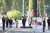 MAY 29 Spanish Royals Attend the Armed Forces Day