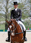 LEXINGTON, KY - APRIL 28: #41 Clifton Signature and rider Jonathan Paget from New Zealand in the warm up ring before their Dressage test in the Rolex Three Day Event, Dressage Day 1, at the Kentucky Horse Park in Lexington, KY.  April 28, 2016 in Lexington, Kentucky. (Photo by Candice Chavez/Eclipse Sportswire/Getty Images)