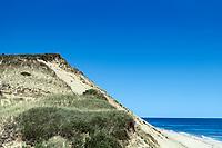 Long Nook Beach and dune cliffs.