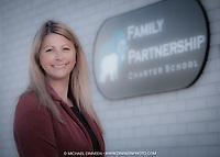 Jessica Parker of Family Partnership Charter School.