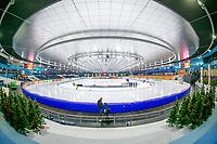 26th December 2020; Thialf Ice Stadium, Heerenveen, Netherlands;  World Championships Qualification Tournament WKKT. stadium view during the WKKT