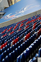 A general view of the Holmesdale Road end during the pre season friendly match between Crystal Palace and Hertha BSC at Selhurst Park, London, England on 3 August 2019. Photo by Carlton Myrie / PRiME Media Images.
