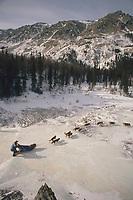 Lavon Barve Rohn Glacier Southcentral AK Iditarod '89