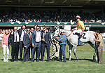 10 April 2010. Silver Timber and Julien Leparoux win the 14th running of the Shakertown (GRIII).