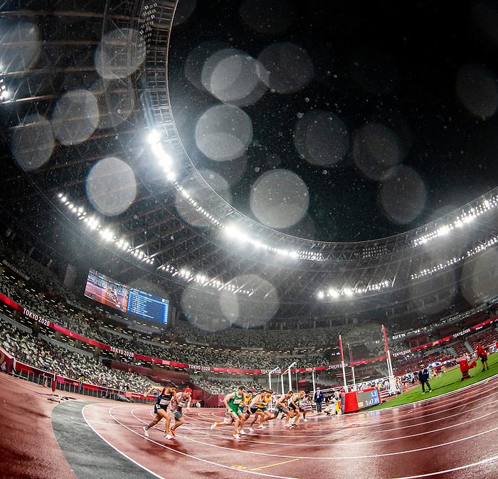 Liam Stanley and Nate Riech, Tokyo 2020 - Para Athletics // Para-athlétisme.<br /> Liam Stanley and Nate Riech compete in the men's 1500m T38 final // Liam Stanley and Nate Riech participent à la finale masculine du 1500 m T38. 04/09/2021.