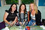 Enjoying the evening in Molly J's on Friday, l to r: Marie Morris (Hunters Wood, Tralee), Gail Groves (Ballymac) and Vanetia Prendeville (Ballymac).