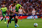Victor Machin 'Vitolo' of Atletico de Madrid in action during La Liga match between Atletico de Madrid and SD Eibar at Wanda Metropolitano Stadium in Madrid, Spain.September 01, 2019. (ALTERPHOTOS/A. Perez Meca)