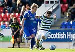 St Johnstone v Celtic..30.10.10  .Liam Craig and Joe Ledley.Picture by Graeme Hart..Copyright Perthshire Picture Agency.Tel: 01738 623350  Mobile: 07990 594431