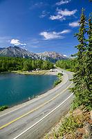 Long lake, along the Glenn Highway, Chugach mountains. Alaska