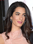 Amal Alamuddin Clooney<br />  attends The Warner Bros. Pictures' L.A. Premiere of Our Brand is Crisis held at The TCL Chinese Theatre  in Hollywood, California on October 26,2015                                                                               © 2015 Hollywood Press Agency