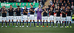 Minutes applause at start