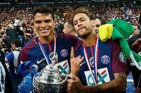 Thiago SILVA (PSG) et Neymar Jr (PSG)<br /> Parigi 08-05-2018 Stade de France <br /> Calcio Finale Coppa di Francia <br /> Les Herbiers - Paris Saint Germain <br /> Foto Panoramic/insidefoto